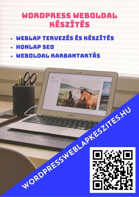 Wordpressweblapkészítés banner